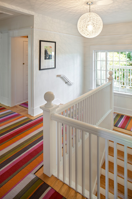NW homes eclectic-staircase
