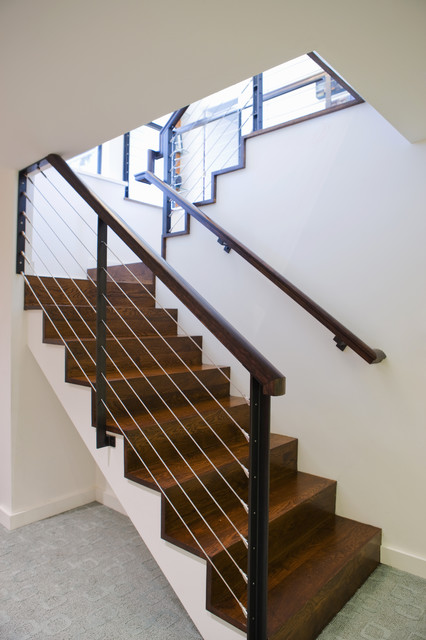 NW HOMES modern-staircase