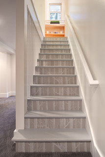 NW HOMES eclectic staircase