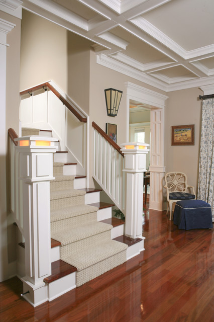 O'Toole Residence Staircase craftsman-staircase