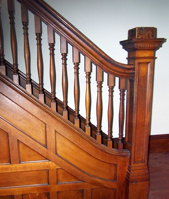 Oak Park House Remodel traditional-staircase