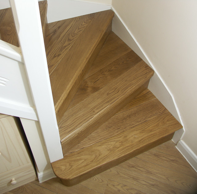 Oak Stair Cladding Traditional Staircase Other By
