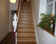 oak staircase traditional-staircase