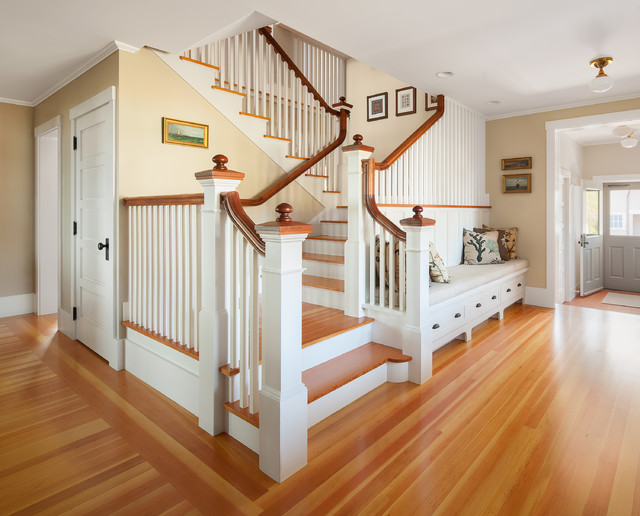 Oceanfront Cottage Beach Style Staircase Portland