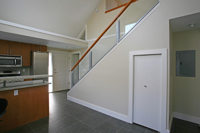 Odenza Homes Laneway staircase