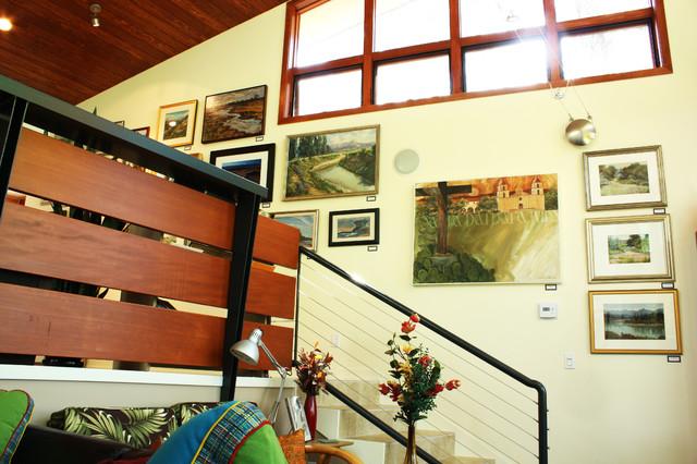 Ojai Gallery 353 contemporary-staircase