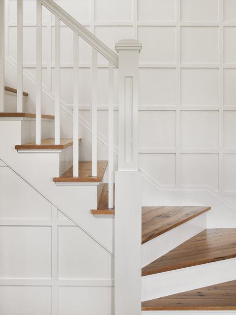 Old Westmoor Farm Rd traditional-staircase