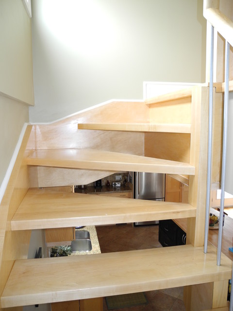 Onslow 2011 Renovation contemporary-staircase