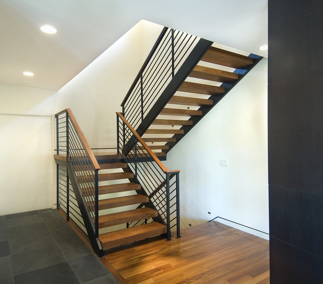 Open modern stair modern staircase minneapolis by white space architecture - Staircase design images ...
