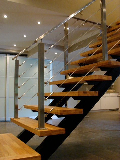 Lovely Open Riser Stairs