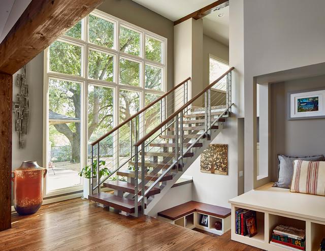 Open Staircase Devonshire Dallas Transitional