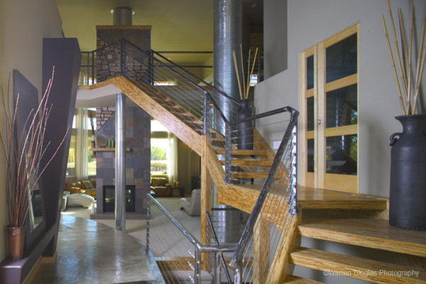 Open Stairs modern-staircase
