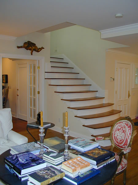 Orinda remodel traditional-staircase
