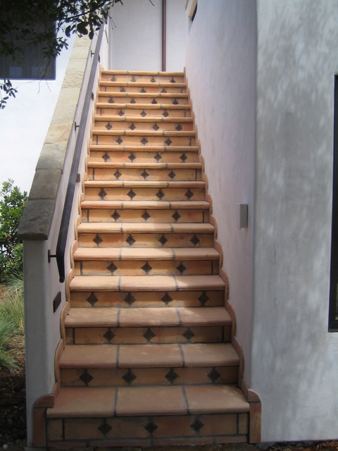 Outside Spaces mediterranean-staircase
