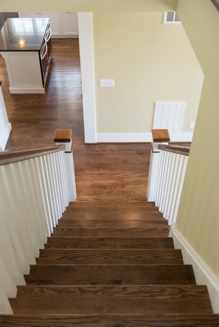 Owen Custom Home traditional-staircase