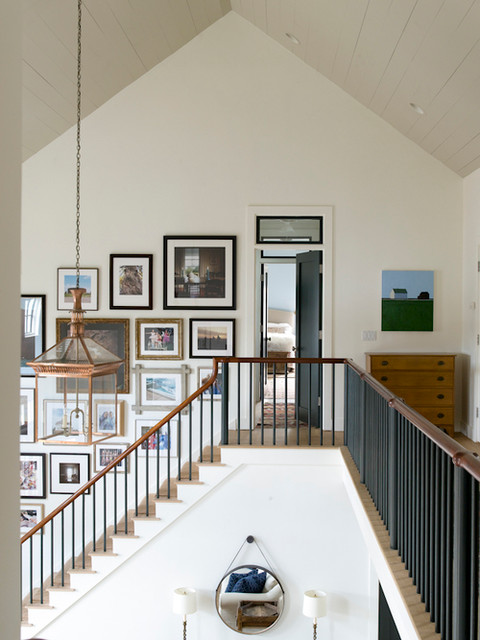 Oyster Bay Home eclectic-staircase