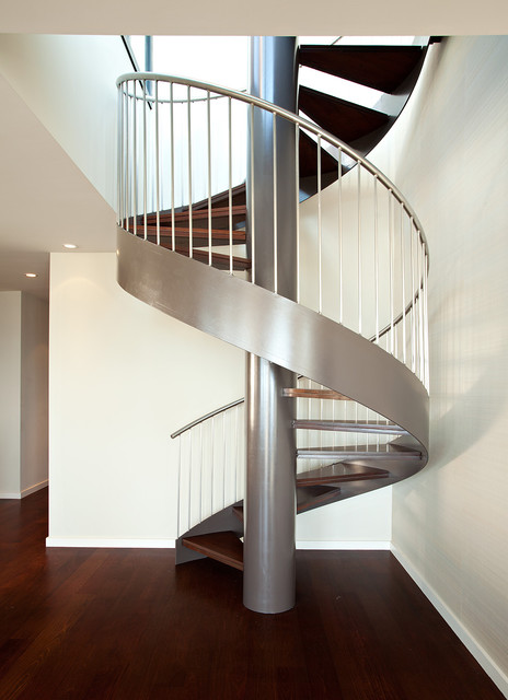 Pac Heights Penthouse modern staircase