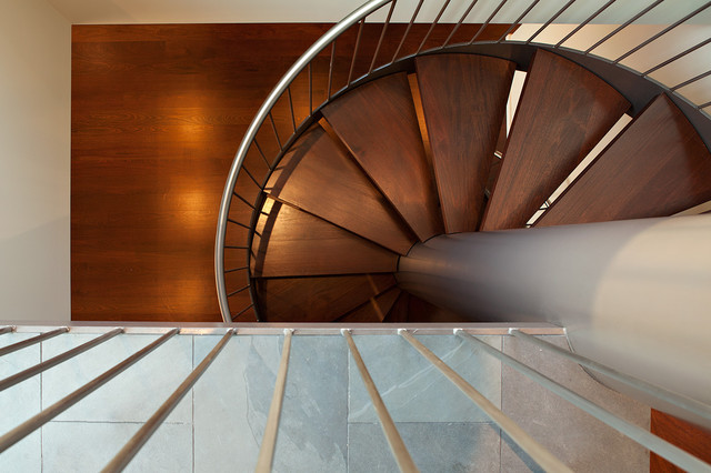 Pac Heights Penthouse modern-staircase