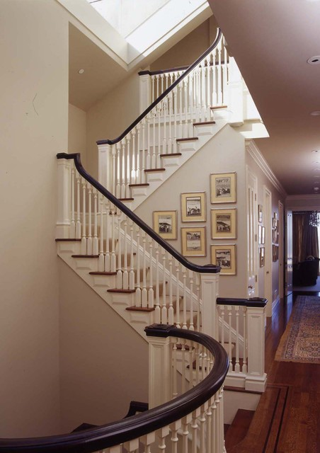 Pacific Heights Manor traditional-staircase