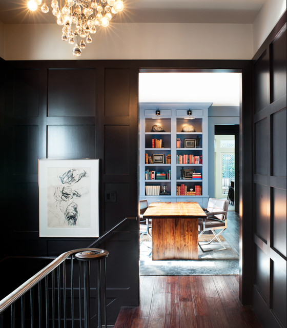 Pacific Heights Townhouse traditional-staircase