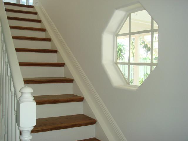 Palm Beach Gardens - Waterway House beach-style-staircase