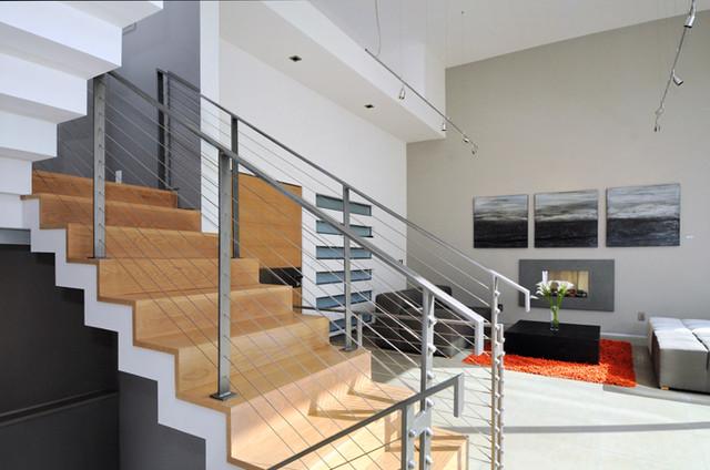 Palo Alto house 1 contemporary-staircase