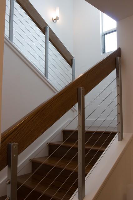 Palo Alto Residence contemporary-staircase