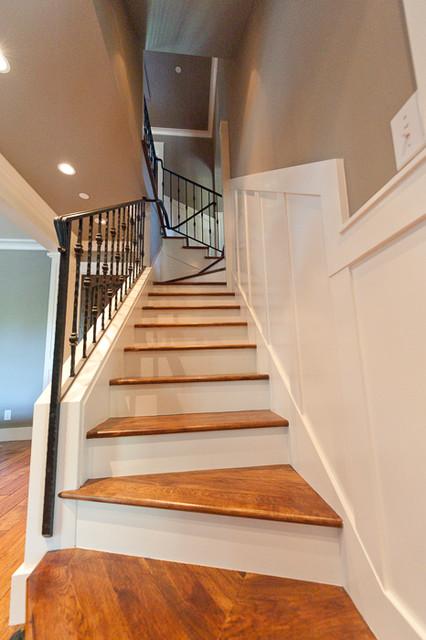 Palo Alto Tudor traditional-staircase