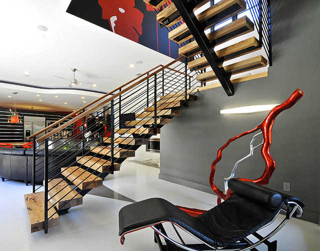 Panache Interiors - Distinctive and Stylish Elegance modern-staircase
