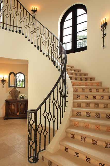 Paradise Valley Spanish Colonial Mediterranean Staircase
