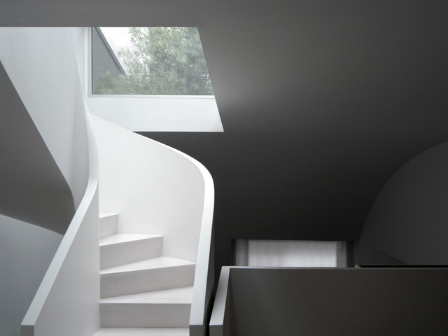 Park Avenue Townhouse modern-staircase