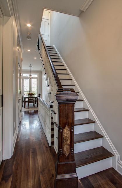 Park Slope Brownstone 3 Traditional Staircase New