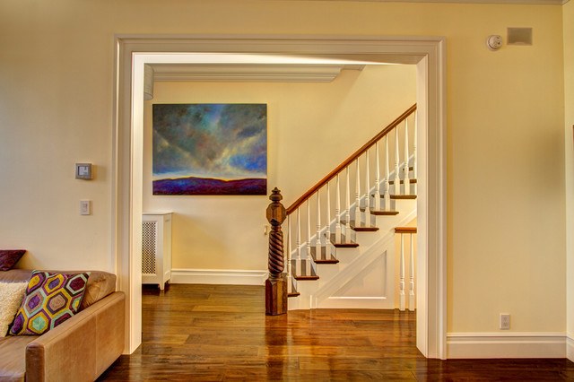 Park Slope Brownstone traditional-staircase