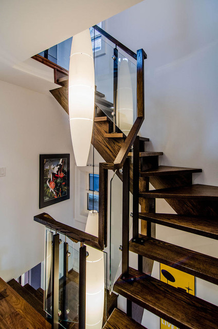 Parkdale Home Renovation contemporary-staircase