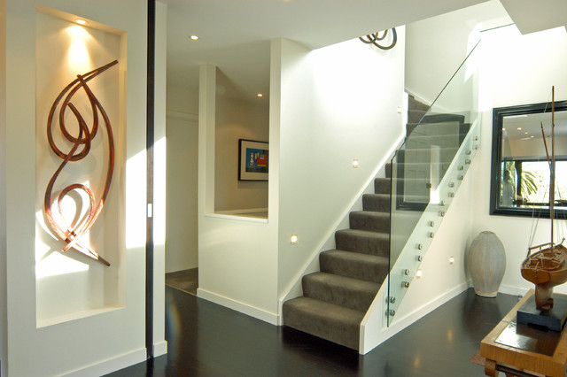Parnell house contemporary-staircase