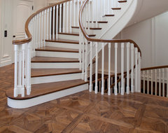 Parquet traditional staircase