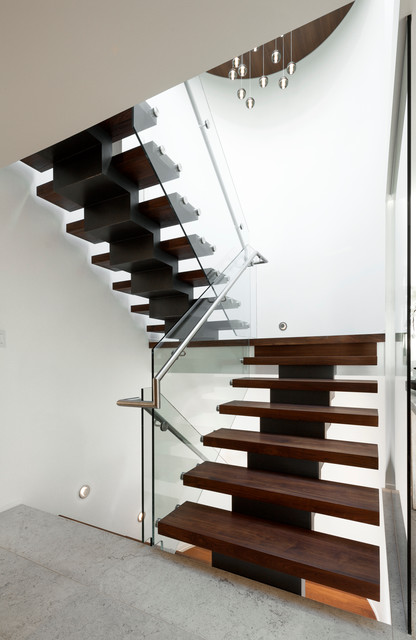 Parthenon place residence schmidt architecture contemporary staircase vancouver by - Architecture moderne residentielle schmidt lepper ...
