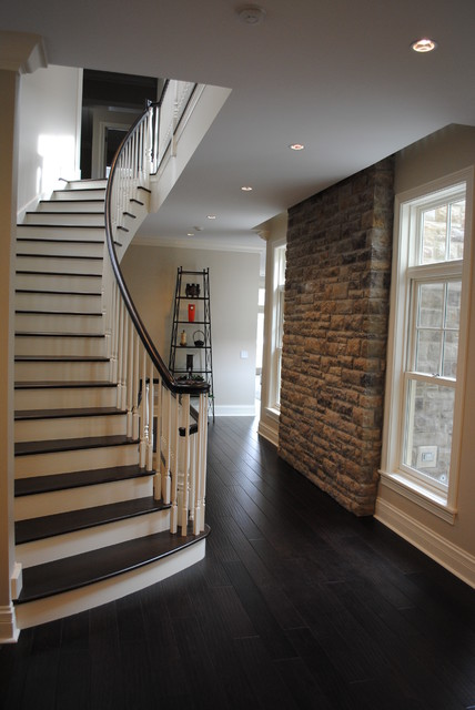 Paulina Private Residence Chicago Craftsman Staircase
