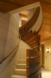 staircase by san francisco architects u designers bar architects