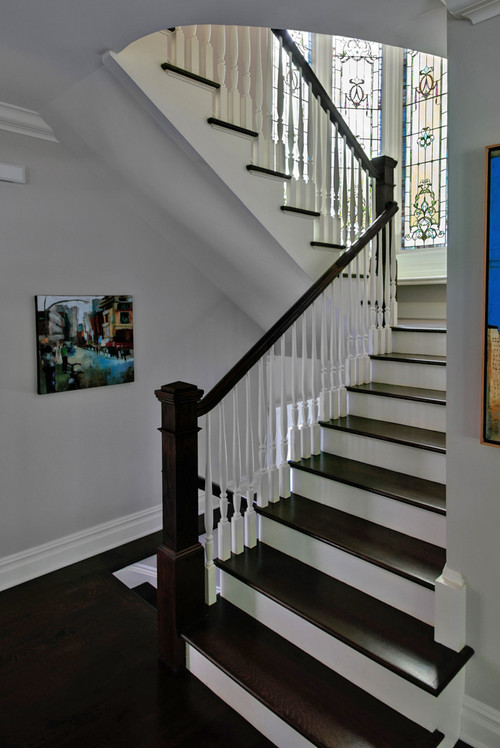 Traditional Staircase By Pleasantville Architects Designers Fivecat Studio Architecture