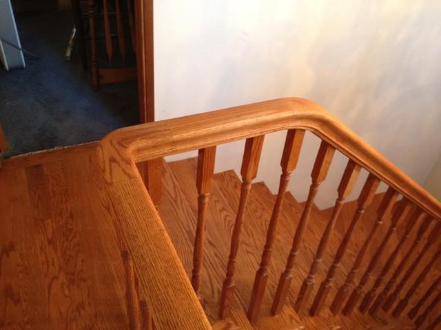 Pennington Handrail traditional-staircase