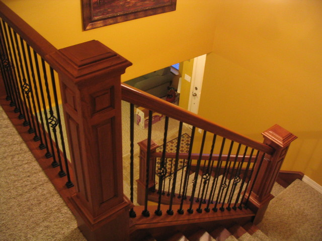Personal Home Traditional Staircase