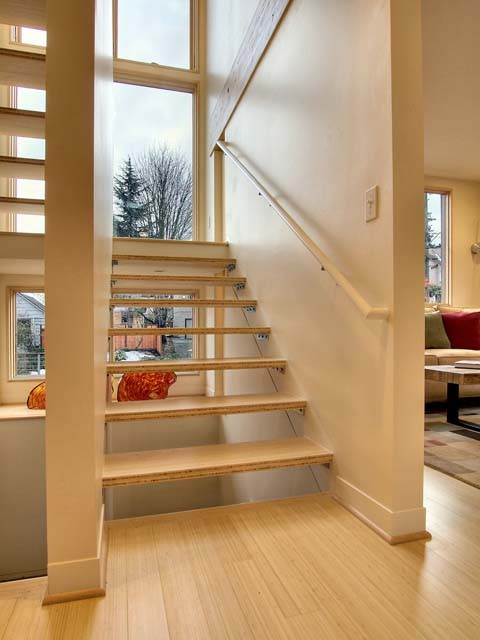 Phinney Umbrella House contemporary staircase