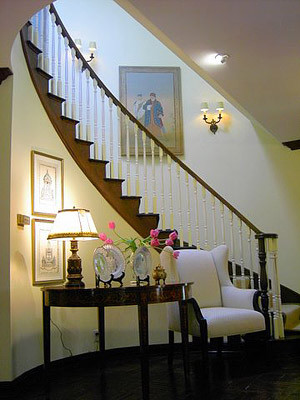Pierre Senechal Interiors + Design traditional-staircase