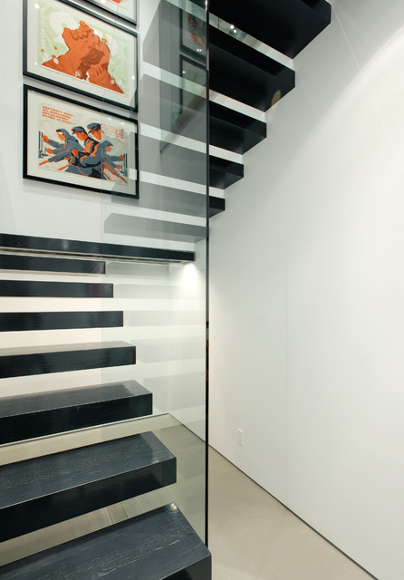 Pioneer Square Condo Modern Staircase Seattle By