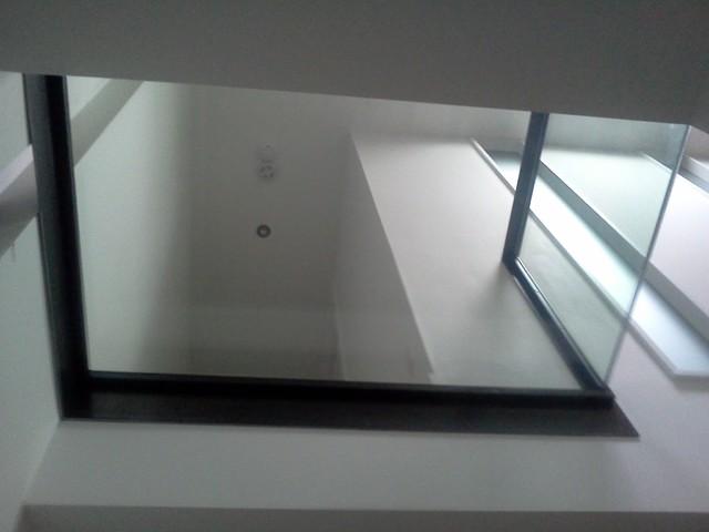 Plancher de verre - Griffin Town modern-staircase