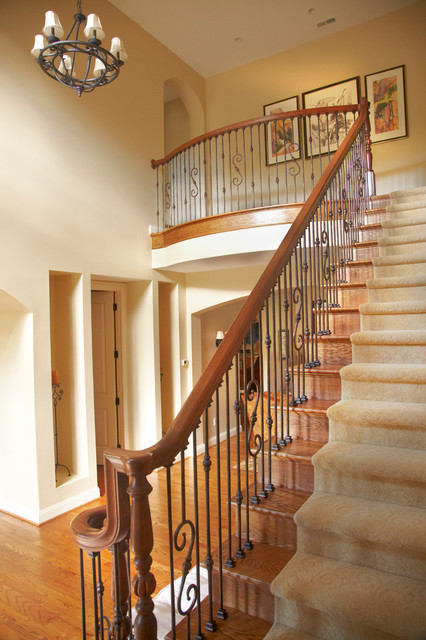 Pleasant Traditional Staircase Detroit By