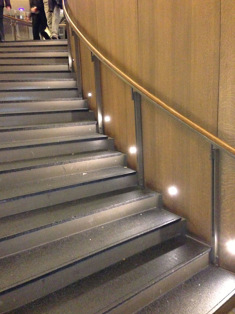 Port LED Round Wall / Floor Recessed by Edge Lighting - Contemporary - Staircase - Chicago - by ...