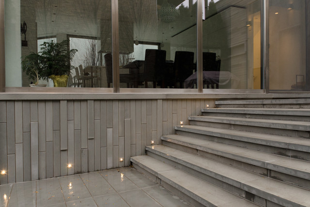 Port LED Square Wall / Floor Recessed by Edge Lighting contemporary-staircase & Port LED Square Wall / Floor Recessed by Edge Lighting ... azcodes.com