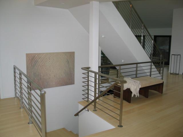 Portola Valley Contemporary Home contemporary-staircase